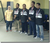 JKR (Pahang) Chess Team 2010