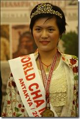 Women's World Champion, GM Hou Yifan