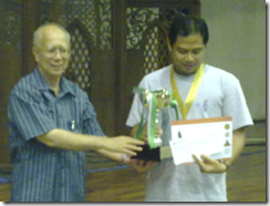 Ian Udani, Open Champion