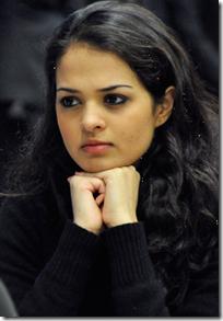 Tania Sachdev, India (courtesy of Chessvibes.com)