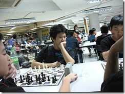 Mark Siew vs Wong Jianwen, courtesy of Gilachess.com