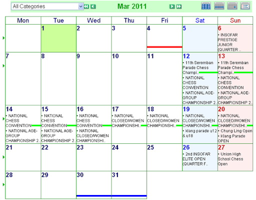 2011 calendar february and march. February-March Calendar of