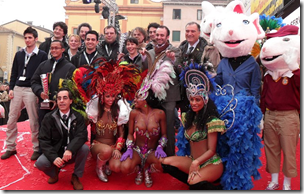 Winners, Officials, Dancers at Closing Ceremony in CENTO