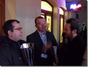 Dreev, Salvador and David - winners at CENTO