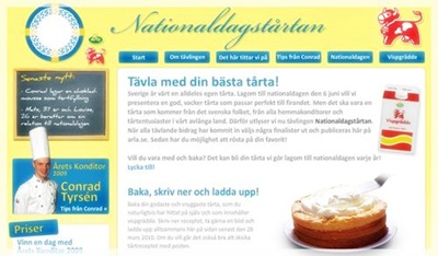 Nationaldagstårta