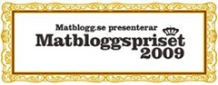 Matbloggspriset2009