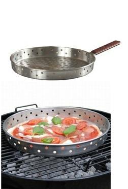 Pizzapanna för grill