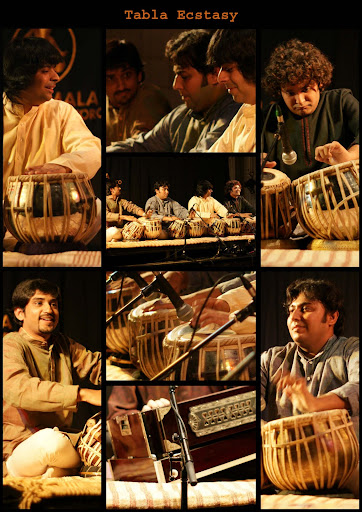 Rushi Vakil, Nishant Mehta, Kaumil Shah and Sahil Patel performing Tabla Ecstasy in Toronto