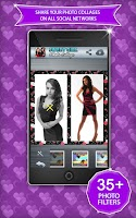 Screenshot of Sweet Girl Photo Collage