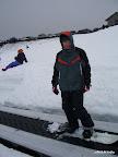 Snowboarďáci hadra
