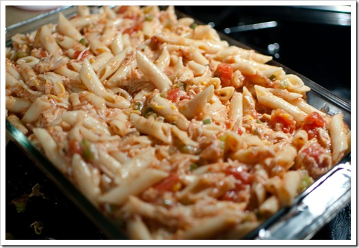 mexican chicken pasta5