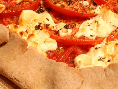 Tomato Goat Cheese Tart