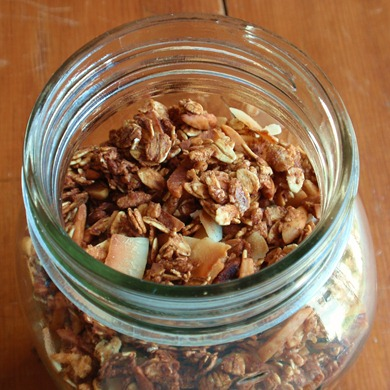 coconut and almond granola 6