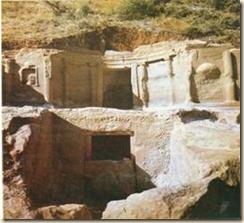 La tomba monumentale di Gradishta