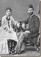 Sami Frasheri insieme a sua moglie