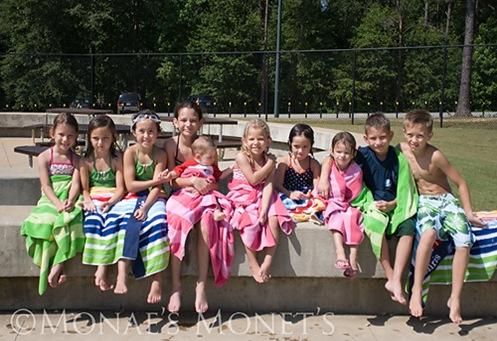 Swimming kids group blog