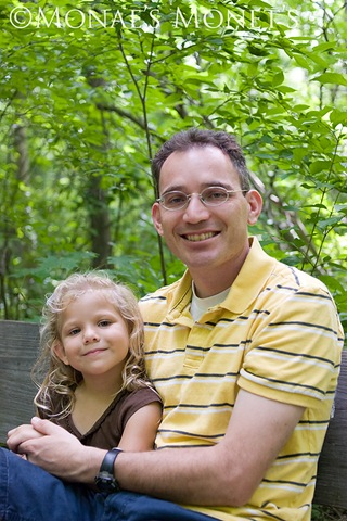Aaron and Erika in sacred grove blog