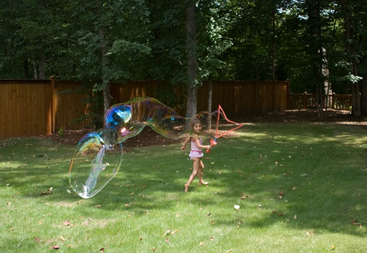 tayleigh running bubble blog