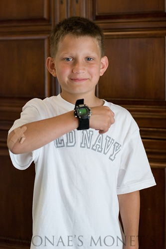 Austin with new watch blog