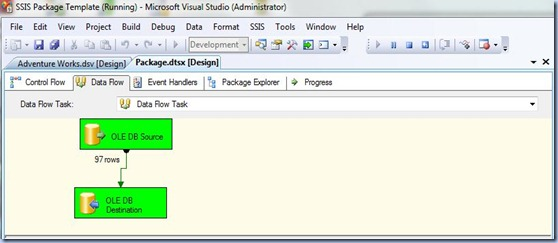 SSIS - Running the Package