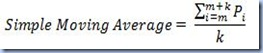 AVG - Simple Moving Average