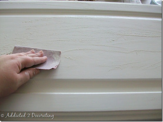 almost perfectly painted cabinet doors 1