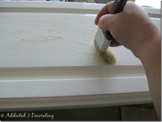 almost perfectly painted cabinet doors 2