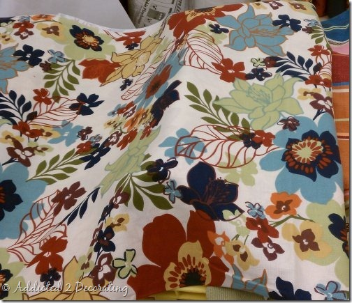 home essentials floral fabric