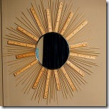 sunburst mirror from made by stephie