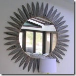 sunburst mirror from gorgeous shiny things