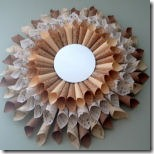 sunburst mirror from the country chic cottage