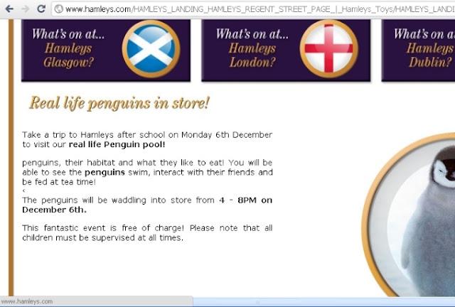Hamleys Website