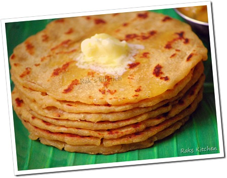 adai topped with butter