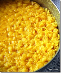 Cooked dal