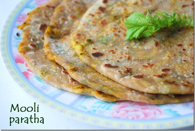 Mooli paratha