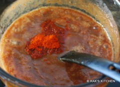 Add red chilli.chat masala