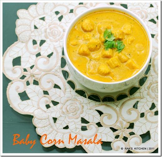 Baby Corn Masala | Baby corn Recipes