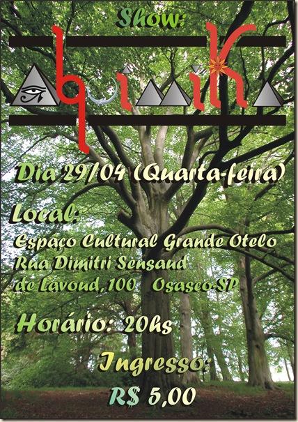 Cartaz Alquímika 29-04-2009