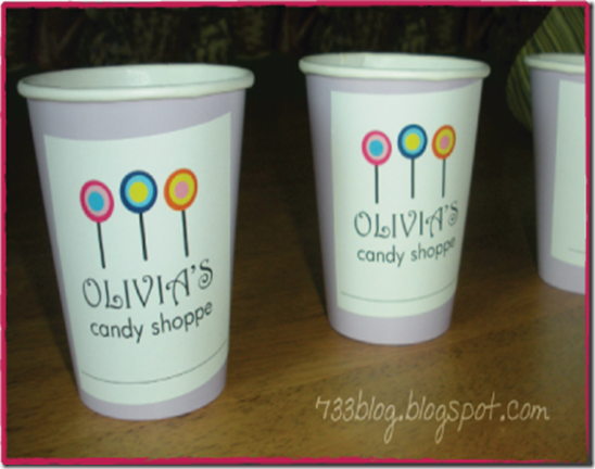 Cup labels