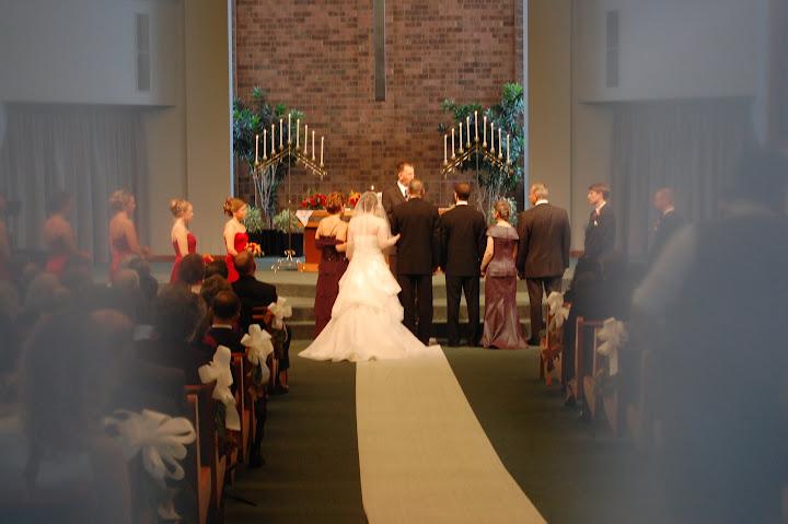 Knox Presbyterian wedding ceremony in Ann Arbor, MI