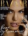 Angelina Jolie copertina Harper's Bazaar