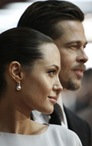 Angelina Jolie, left, and Brad Pitt CELEBUTOPIA
