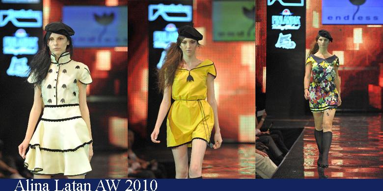 Alina Latan Toamna-Iarna 2010 Romanian Fashion Week Iasi