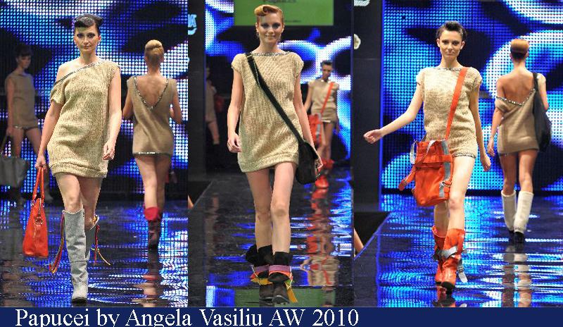 Papucei by Angela Vasiliu Toamna-Iarna 2010 Romanian Fashion Week Iasi