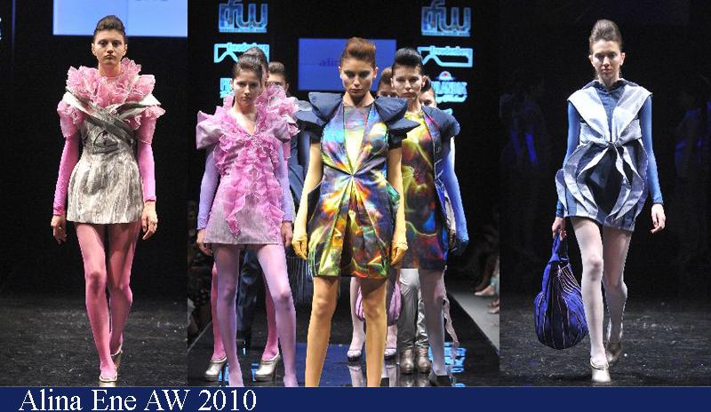 Alina Ene Toamna-Iarna 2010 Romanian Fashion Week Iasi