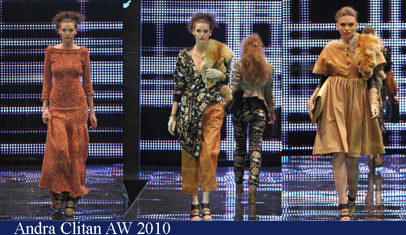 Andra Clitan Toamna-Iarna 2010 Romanian Fashion Week Iasi