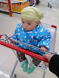 朵朵逛超市