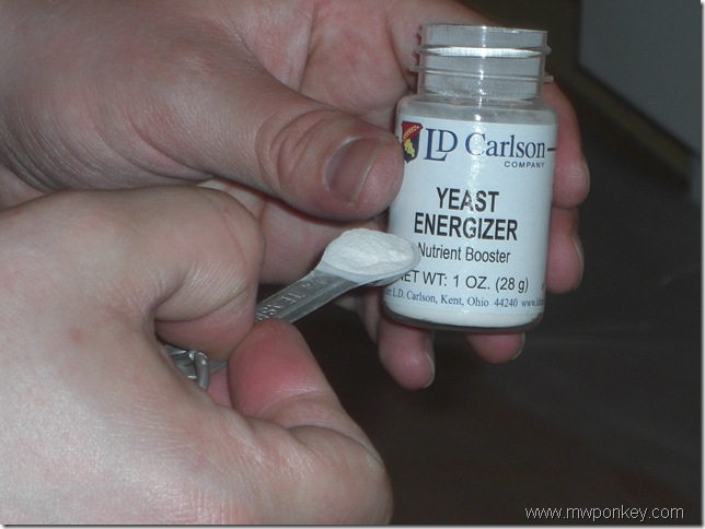 Yeast Energizer (1 tsp per gallon of must)