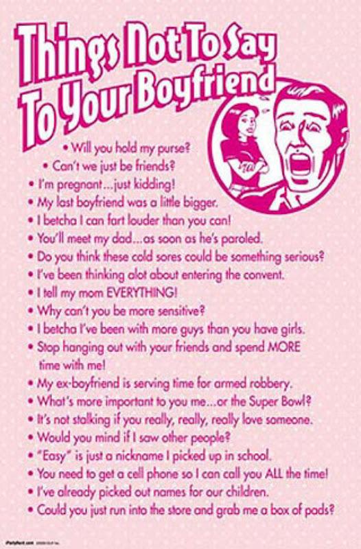 Clever Ways To Lose Your Boyfriend