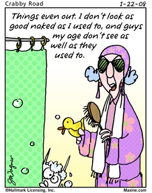 Maxine Cartoons On Aging